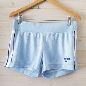 NIKE baby blue athletic shorts